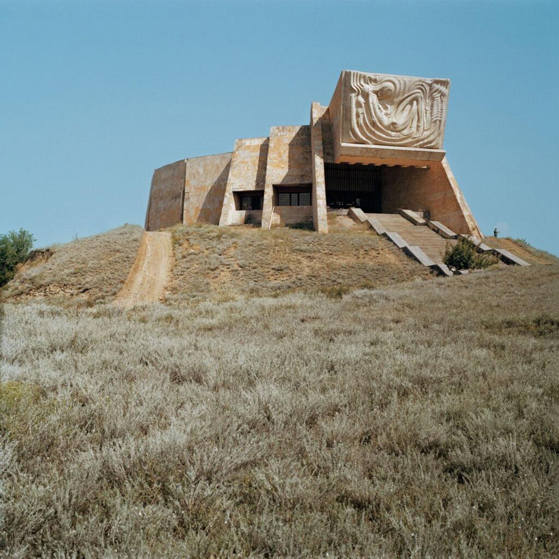 Заброшенный Музей археологии в Дигоми. Тбилиси, Грузия