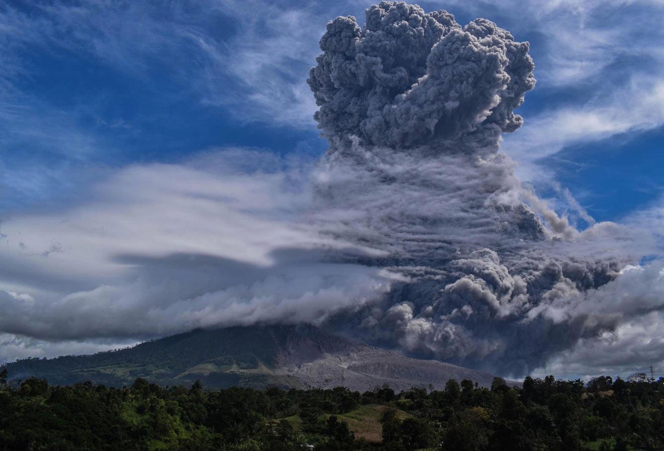 Гора Синабунг