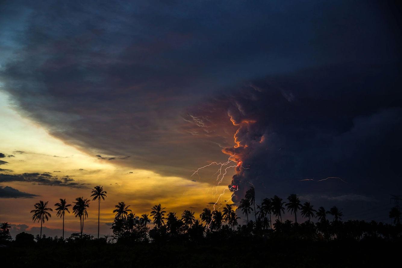 Извержения вулкана Таал на Филиппинах