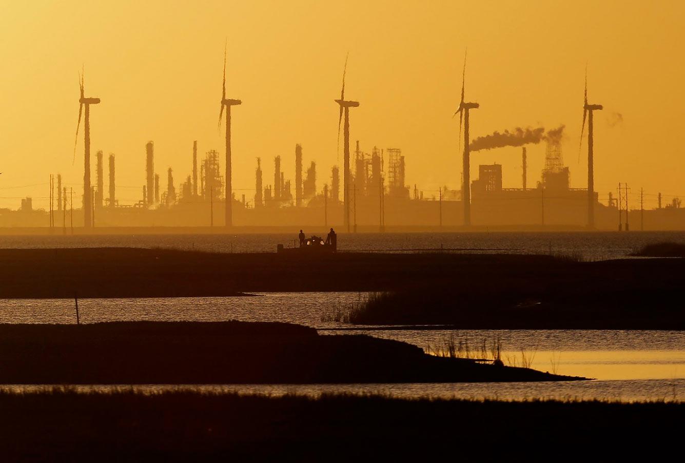Нефтеперерабатывающий завод в Корпус-Кристи
