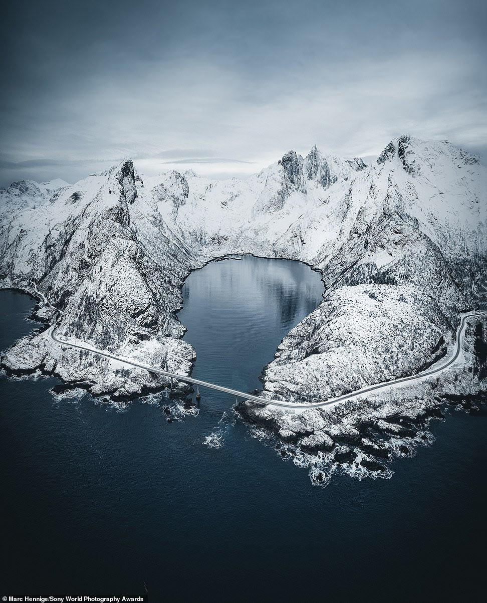 Снимок Лофотенских островов