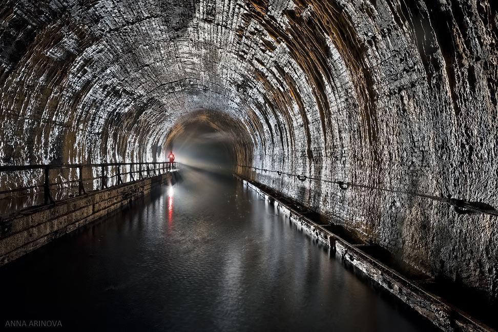 Заброшенный судоходный тоннель