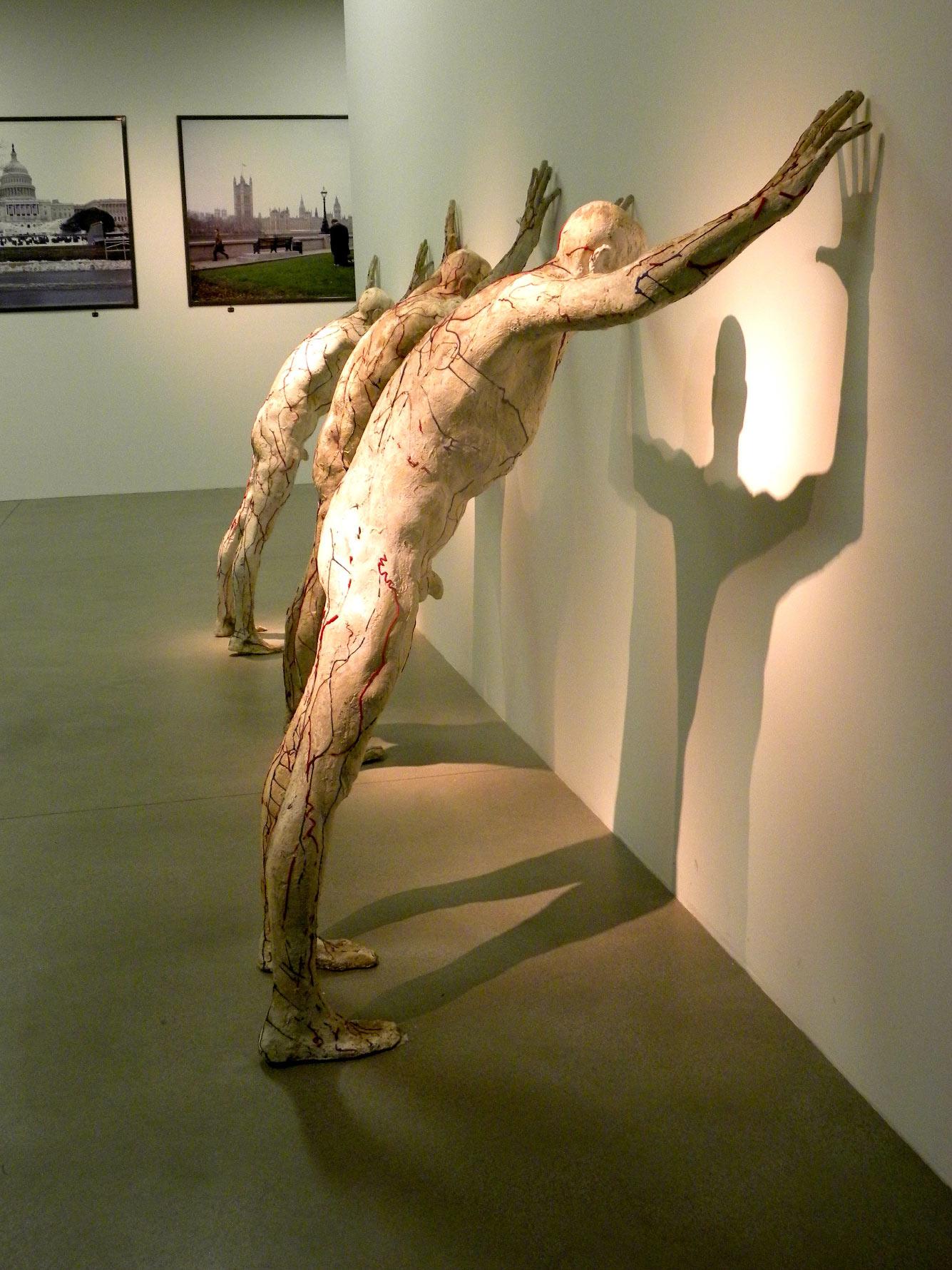 Статуи в Загребском музее современного искусства