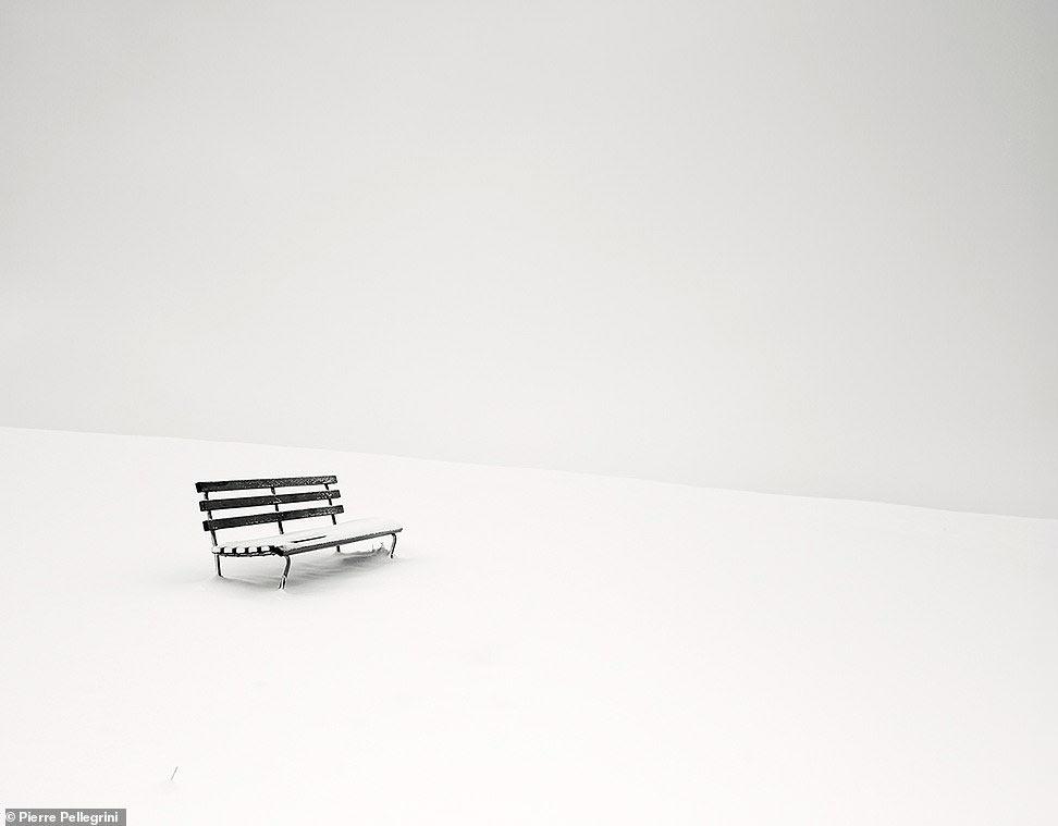Скамейка в Швейцарии