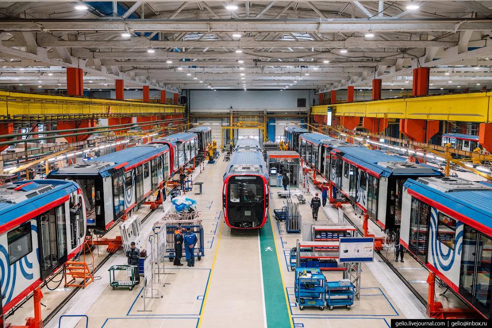 «Метровагонмаш» – как производят самые современные поезда метро