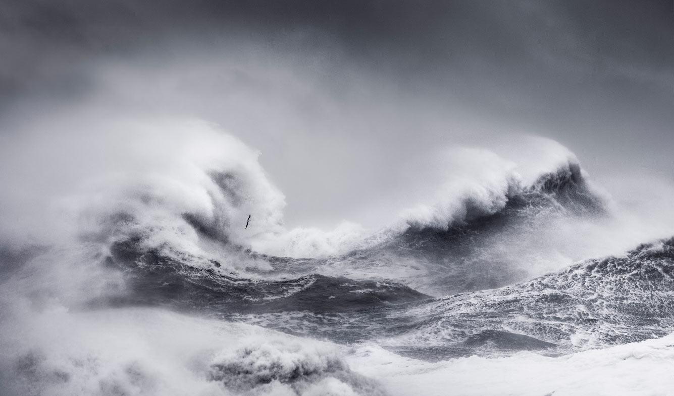 Буря в Восточным Суссексе