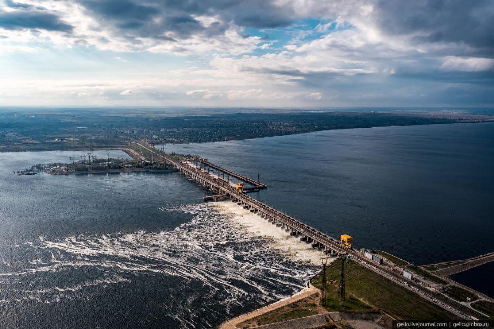Волжская ГЭС — крупнейшая гидроэлектростанция Европы