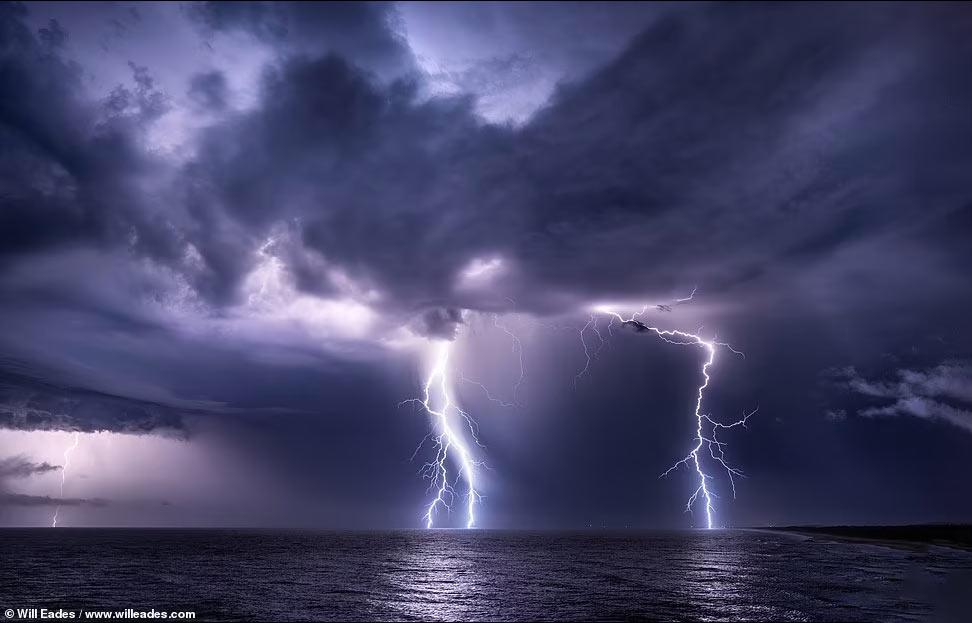 Удивительные фотографии молний