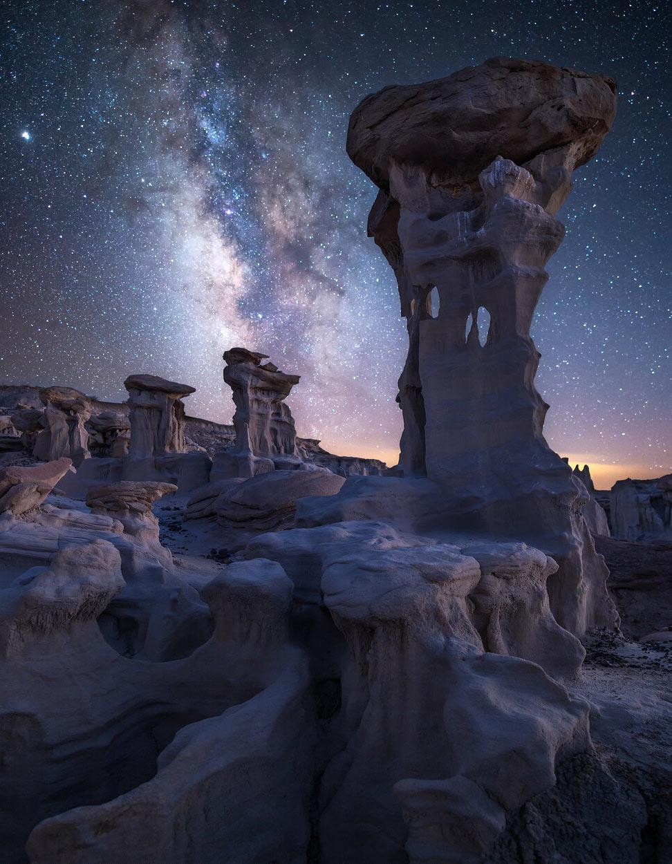 Млечный путь в Нью-Мексико