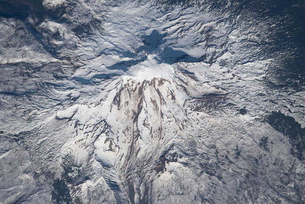 Вид на гору Адамс, это вулкан в штате Вашингтон в США