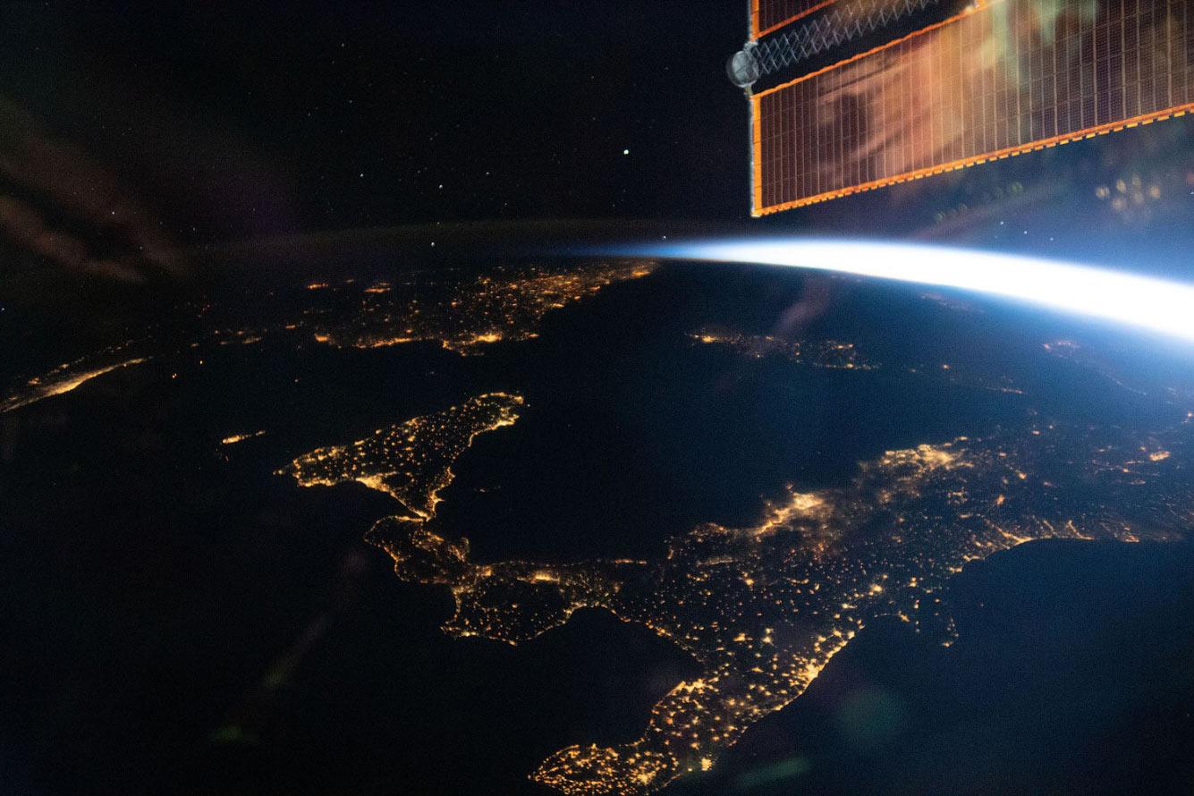 Ночные огни Италии