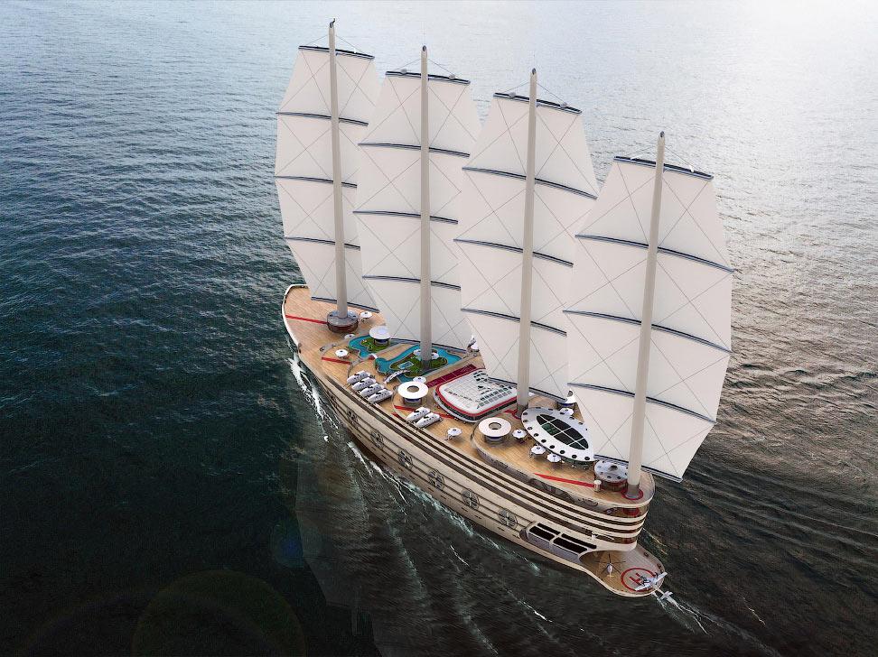 Мечта олигарха: суперяхта «Испанская армада»