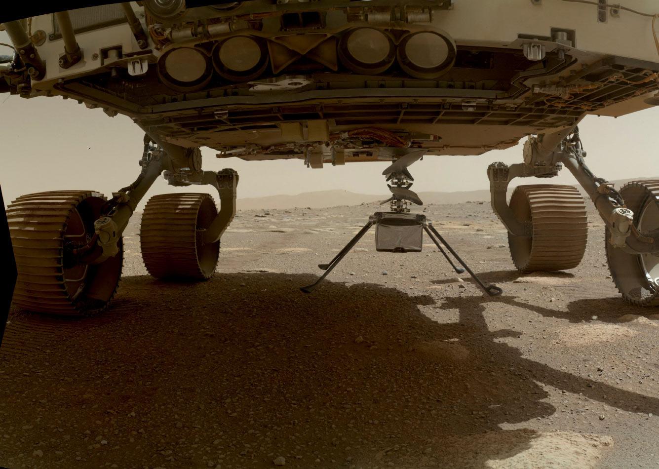 Первые 100 дней марсохода NASA Perseverance