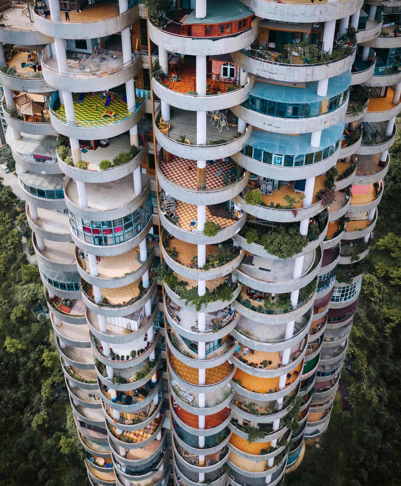 Жилой комплекс зданий в Гуйчжоу, Китай