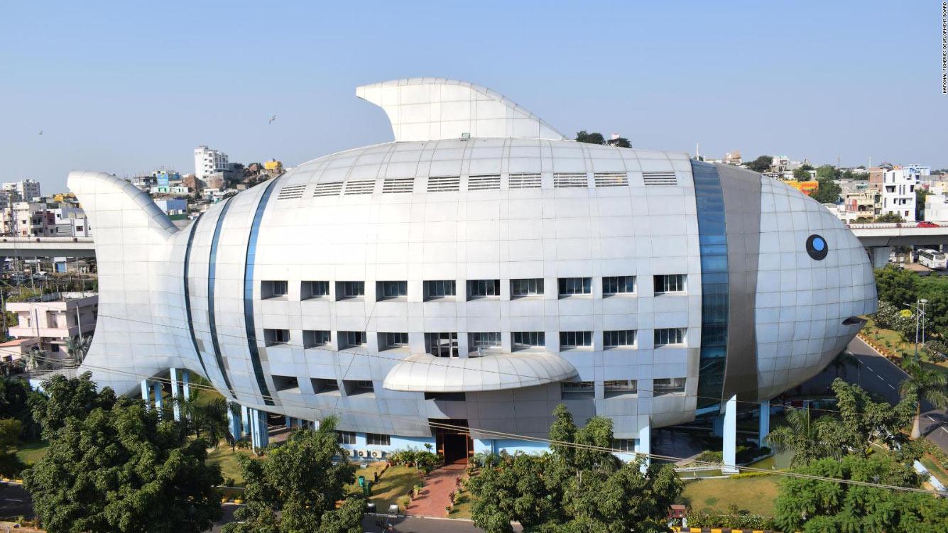 Индийский департамент рыболовства, расположенный в Хайдарабаде