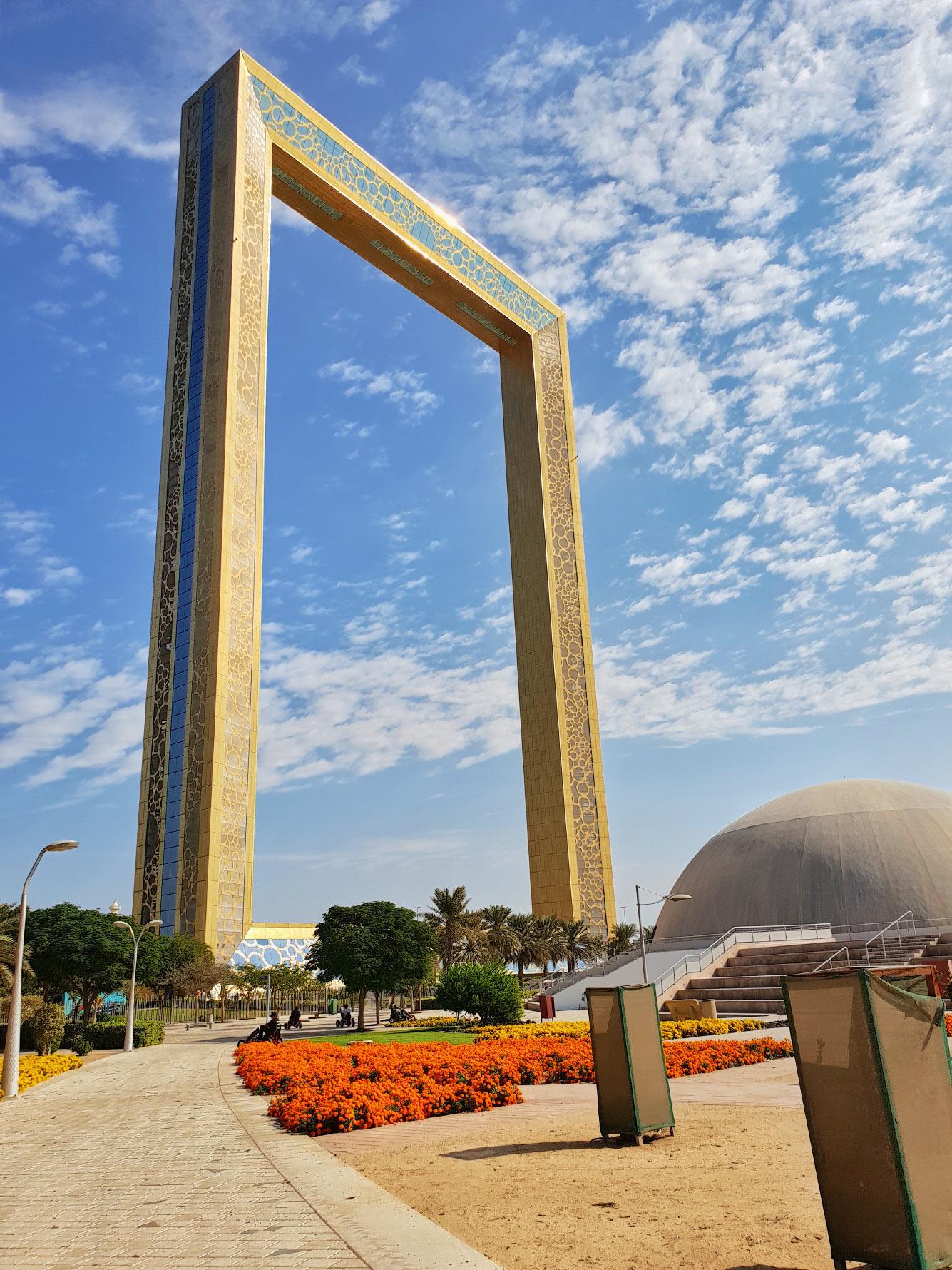 Рамка Дубая (Dubai Frame)