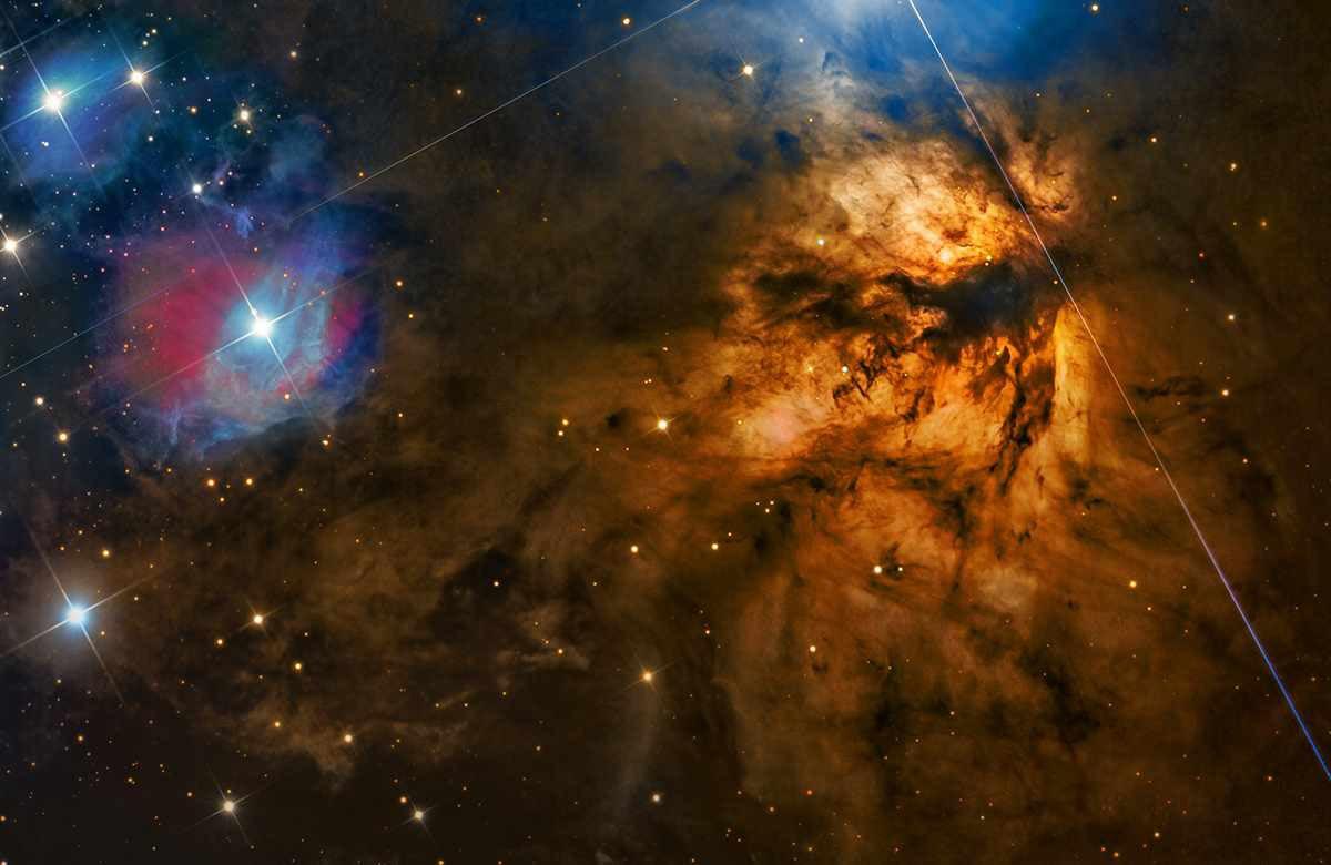 NGC 2024 или Туманность «Пламя» или Туманность «Факел»