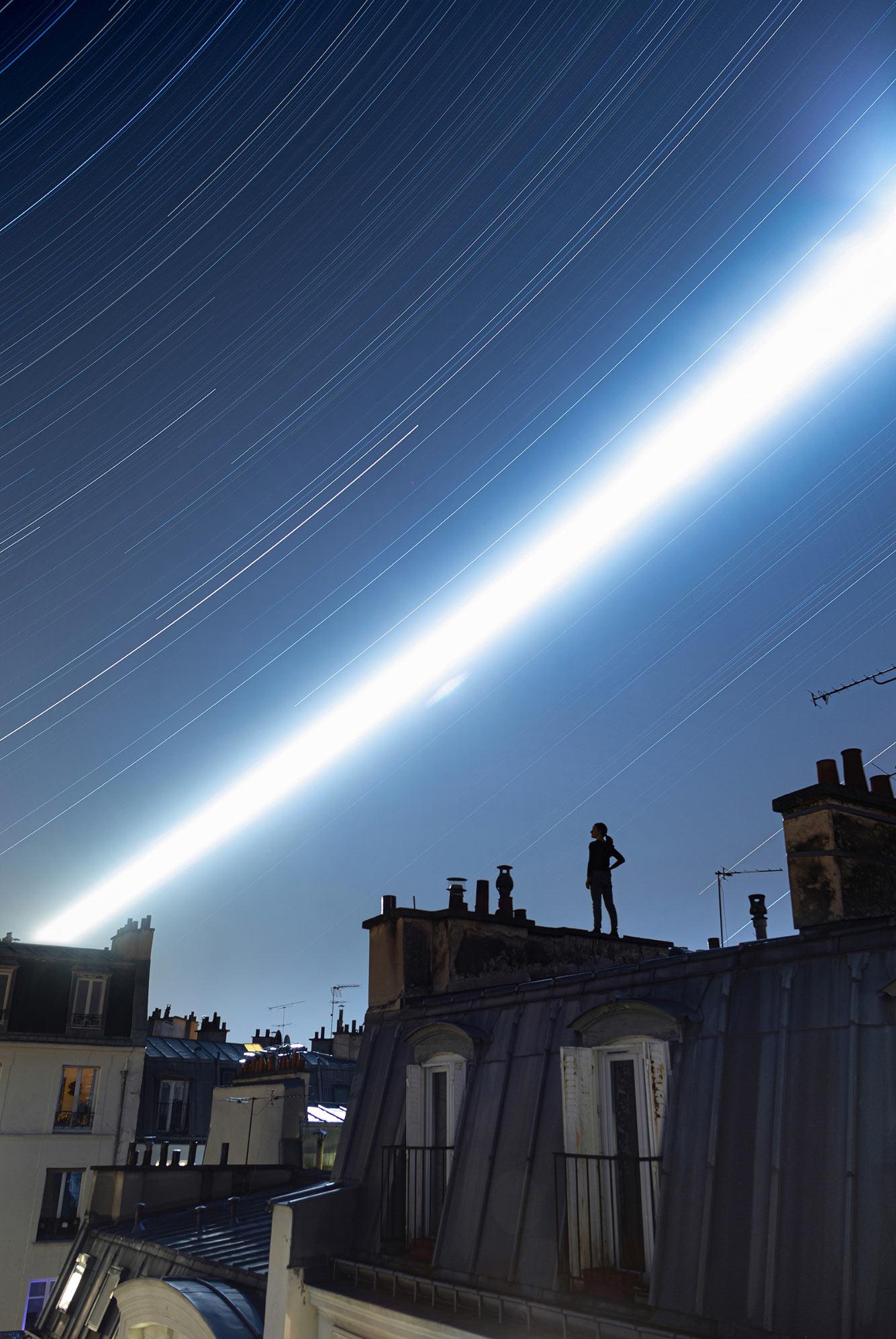 Ночь над Парижем