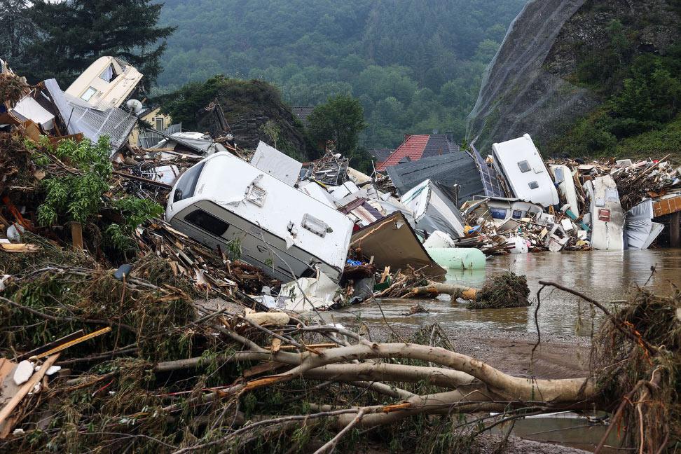 Катастрофическое наводнение в Западной Европе 2021