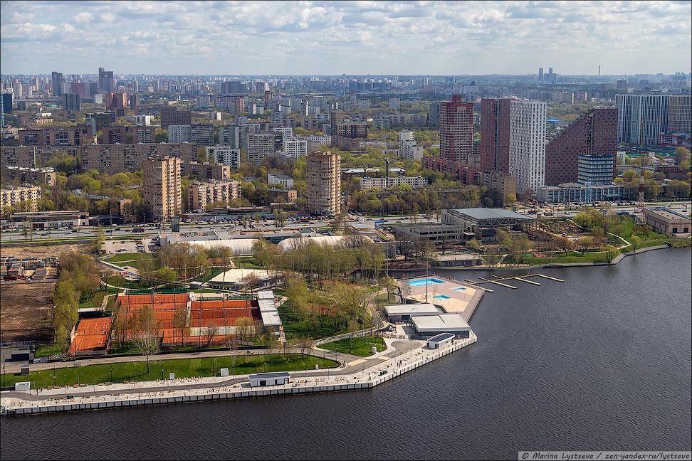 Москва с высоты: муравейники вдоль Ленинградки