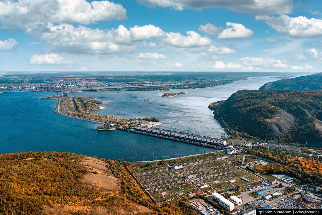 Тольятти с высоты – российская столица автомобилестроения