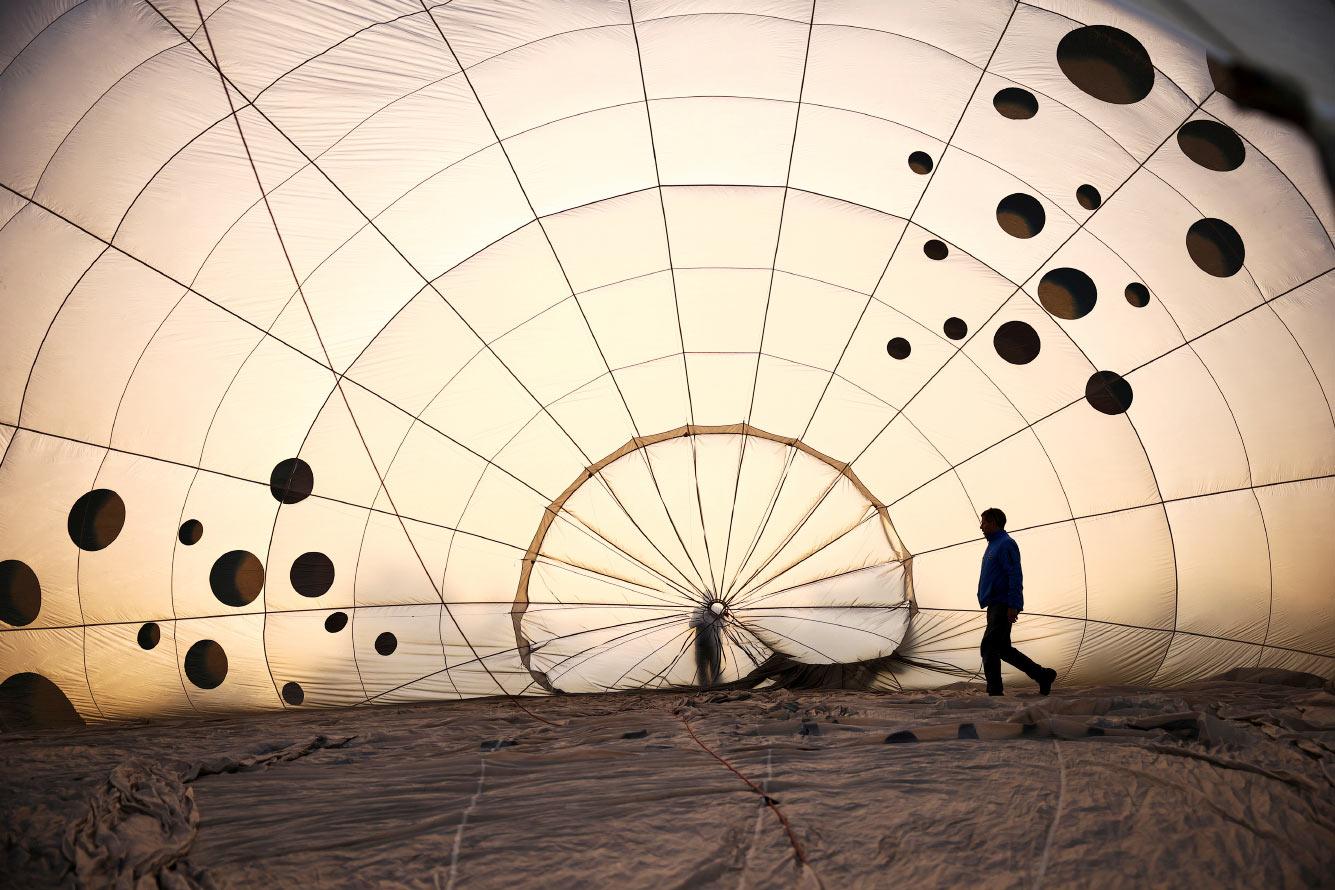 Воздушный шар в Бристоле, Великобритания