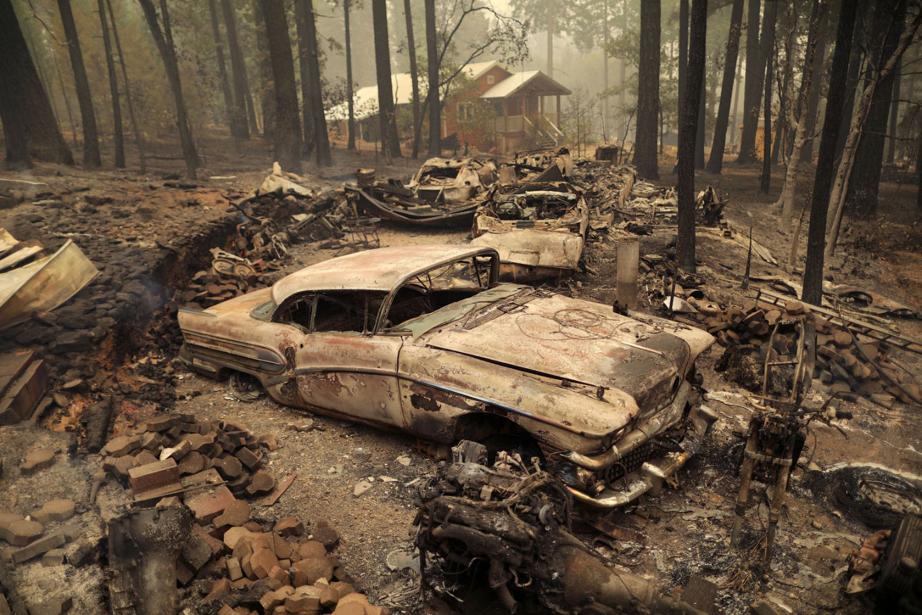 Уничтоженные машины