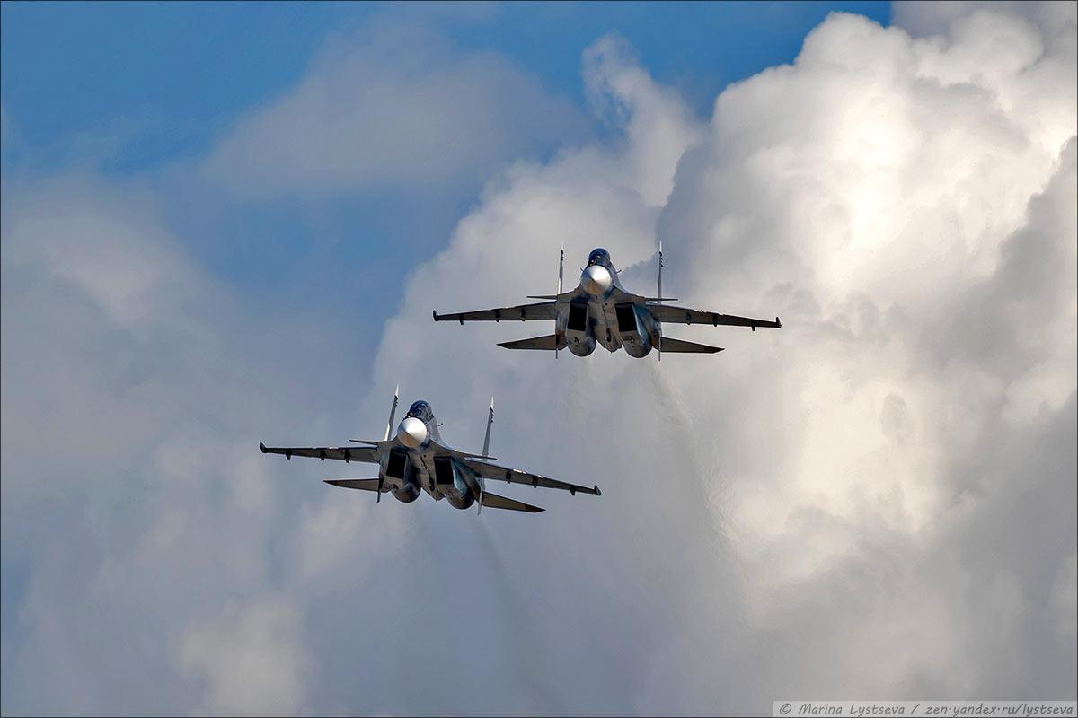 Морская пара Су-30СМ