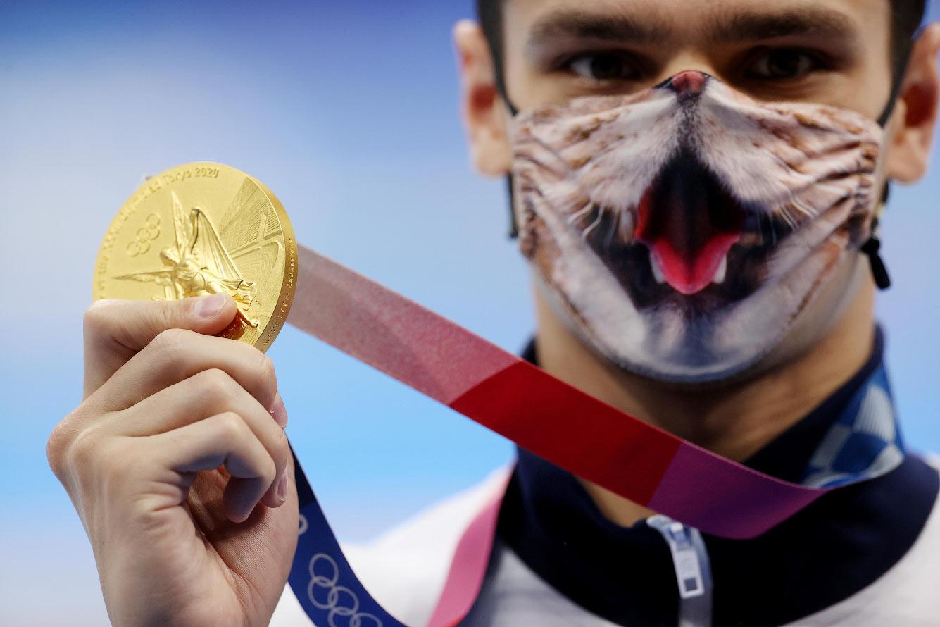 Золотой призер Евгений Рылов из России