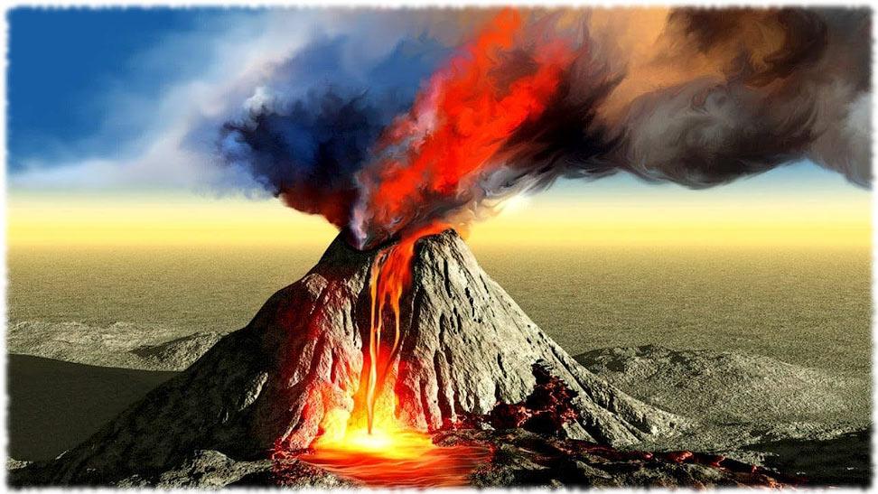 Самые мощные извержений вулканов в истории