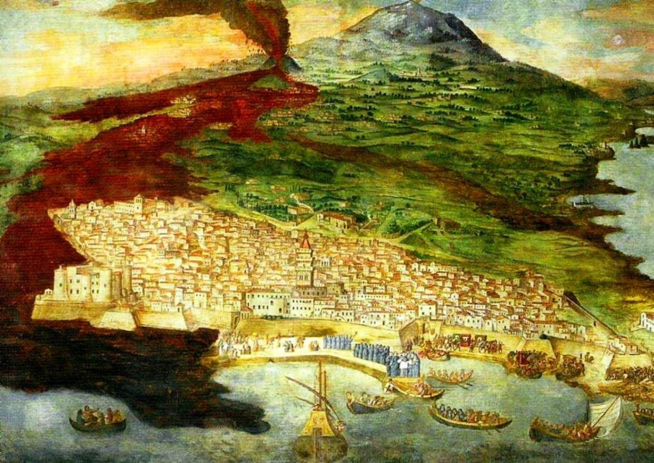 Этна (Италия, остров Сицилия, 1669 год)