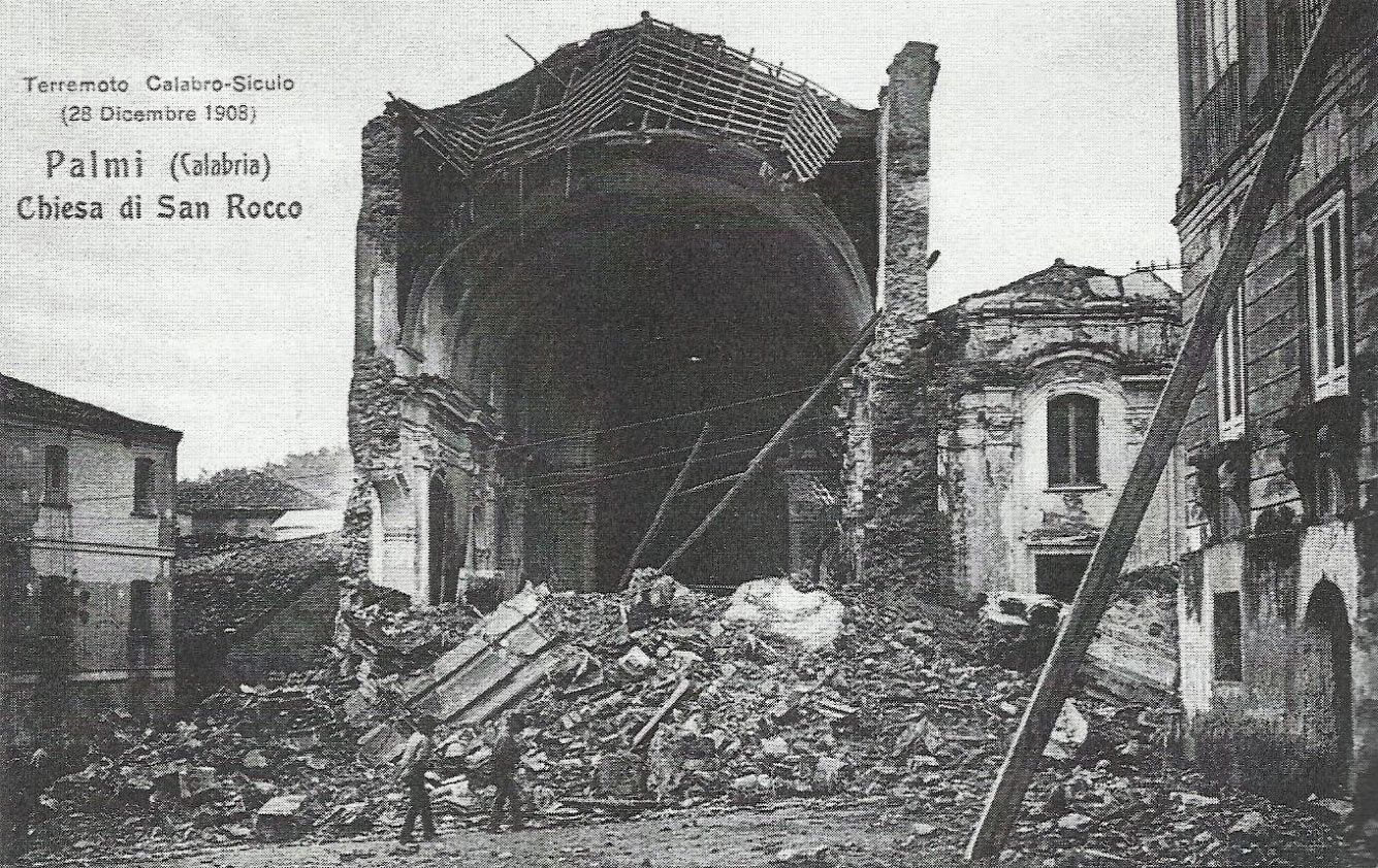 Разрушенная церковь Сан-Рокко в Пальми