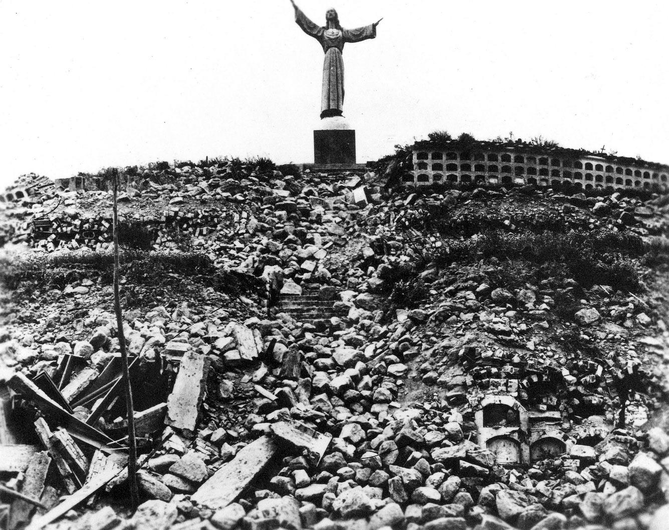 Чемботейское землетрясение (Перу, 31 мая 1970 года).