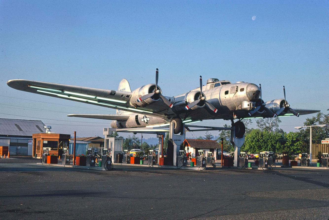B-17 времен Второй мировой войны