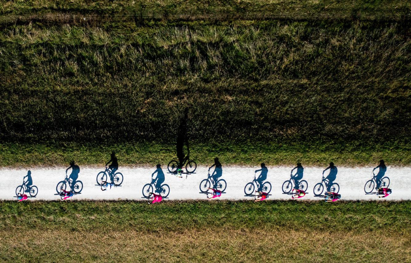 Велогонка в Новой Зеландии