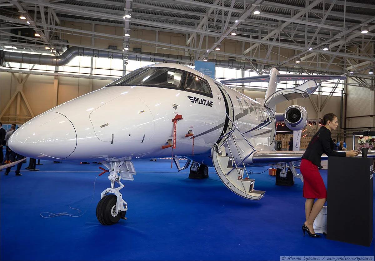 Швейцарский бестселлер Pilatus PC-24