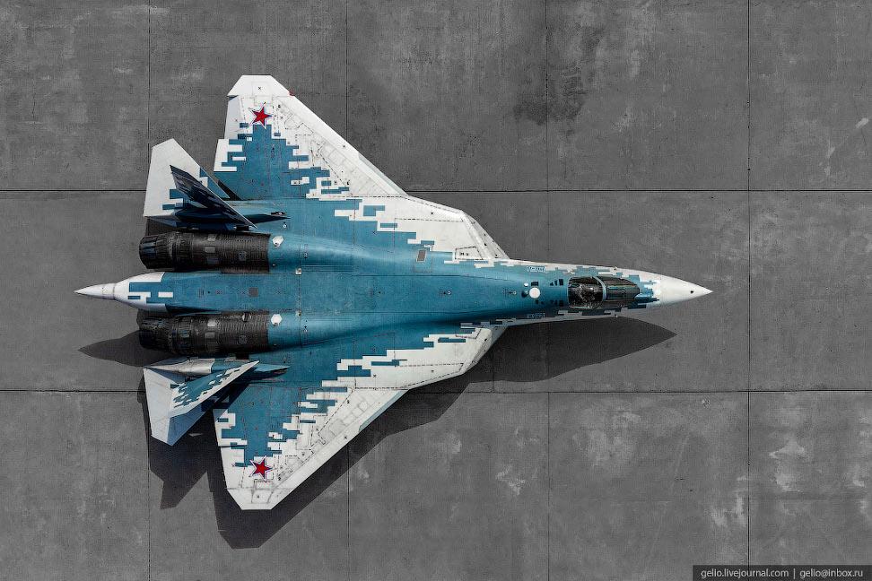 Су-57 — российский истребитель пятого поколения