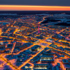Якутск с высоты — крупнейший город на вечной мерзлоте