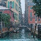 Снежная Венеция. Часть 2