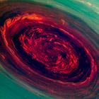 Мощнейший ураган на Сатурне