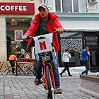 Велосипед - новый вид транспорта в Москве
