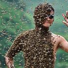Конкурс на самый большой вес пчел на теле человека