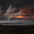 """""""Звездные войны"""": необычные фотографии ночного боя"""