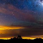 Галактика Млечный путь. Интервальная съемка