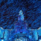 Из Книги рекордов Гиннеса: лазерное шоу на стенах МГУ