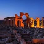 Пальмира - древний город в пустыне