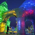 Международный фестиваль ледяных скульптур в Харбине 2012