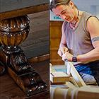 Как делают элитную английскую мебель