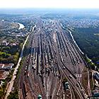 Инская - одна из крупнейших сортировочных станций в России