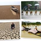 """""""Великая засуха"""" и сильнейшее наводнение в Китае"""